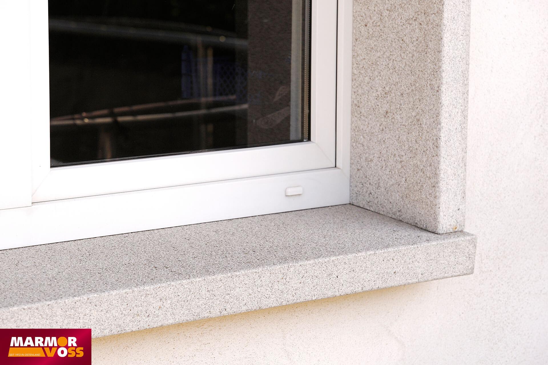 Fensterbänke aus Naturstein - Innen- und Außenbereich   Marmor Voss ...